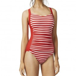 MOONTIDE Above Board Ruched Front One Piece